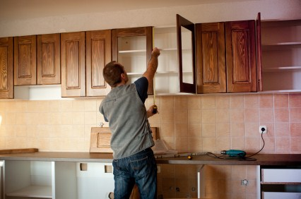 Cabinet refinishing in Ferguson KY