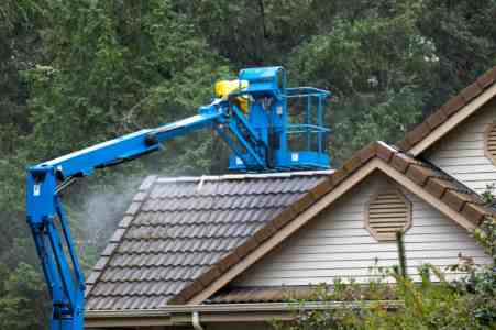 Roof Cleaning by Miller Remodeling and Painting