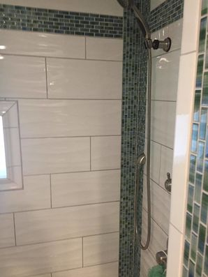 Stanford bathroom remodel by Miller Remodeling and Painting
