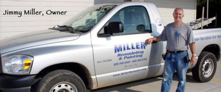 Painter in Lexington, KY: Miller Remodeling and Painting